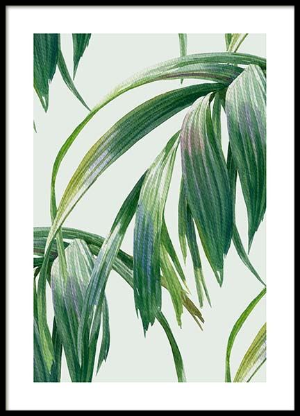 Watercolor Leaves Poster in der Gruppe Poster / Botanik bei Desenio AB (10126)