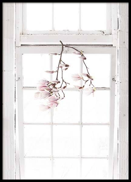 Flowers In The Window Poster in der Gruppe Poster / Fotografien bei Desenio AB (10182)