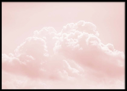 Pink Cloudy Sky Poster in der Gruppe Poster / Naturmotive bei Desenio AB (10262)
