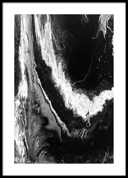 Abstract Black Poster in der Gruppe Poster / Kunstdrucke bei Desenio AB (10271)