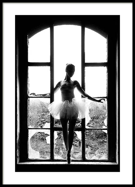 Window Ballet Poster in der Gruppe Poster / Fashion bei Desenio AB (11701)