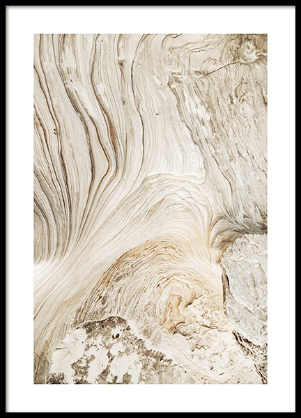 Abstract Cliffs Poster in der Gruppe Poster / Naturmotive bei Desenio AB (12398)