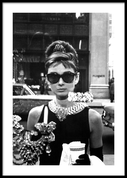 6025970ae1 Breakfast at Tiffany s Affiche