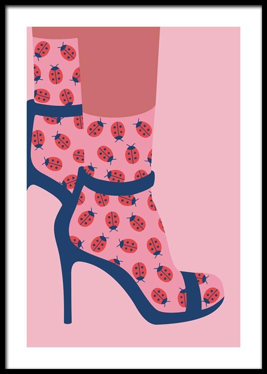 Ladybird In Poster Socks Heels Socks In Poster Ladybird In Socks Ladybird Heels iPuXOkZ